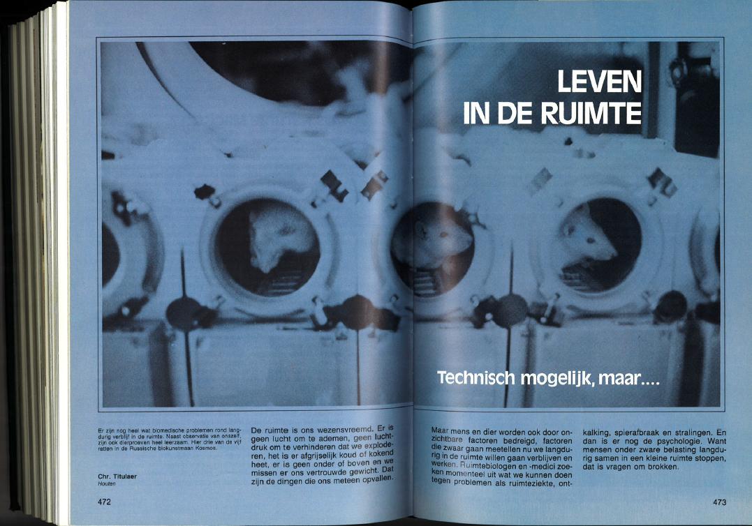 Chriet titulaer over leven in de ruimte 39 privacy is moeilijk te realiseren 39 new scientist - Ruimte tegel te leven ...