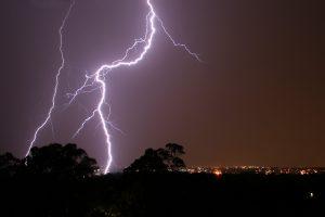 Een blikseminslag stopte de synesthesie van een vrouw, maar het keerde terug. Beeld: Wikimedia Commons/Mike Lehmann