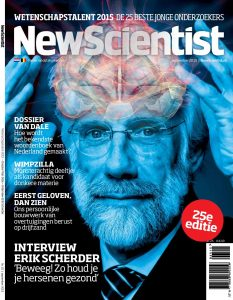 De 25e editie van New Scientist met daarin de profielen van alle kandidaten ligt vanaf 20 augustus in de winkel.