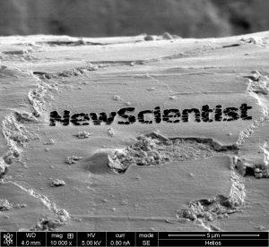 New Scientist, groot geworden door klein te blijven. Foto: EMAT