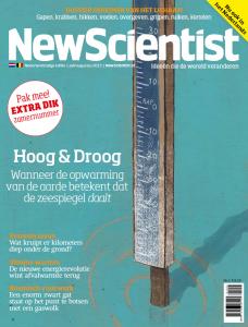 Cover New Scientist #2 - 27 juni 2013, ontwerp van XF&M