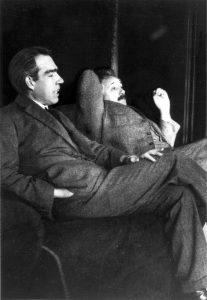 Niels_Bohr_Albert_Einstein_by_Ehrenfest