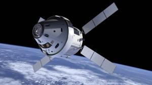 Met de testvlucht van Orion opent Nasa een nieuw hoofdstuk in de bemande ruimtevaart. Bron: Nasa