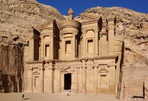 Het Klooster is het grootste monument van Petra, Jordanië. Foto: Berthold Werner