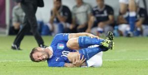 Deze voetballer heeft duidelijk geen last van een aangeboren verdoving. Bron: Wikimedia Commons/ Simo82