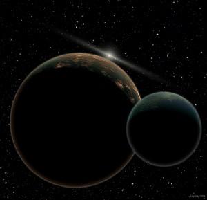 Pluto en Charon hires