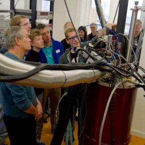 Het quantumlab van de TU Delft
