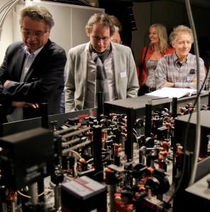 Het optische lab van Ronald Hanson