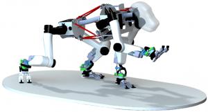Het ontwerp van de robotaap Bron: DFKI/Universität Bremen