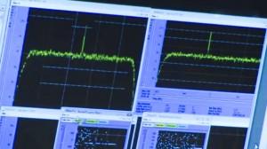 Rosetta's eerste bericht Bron: ESA