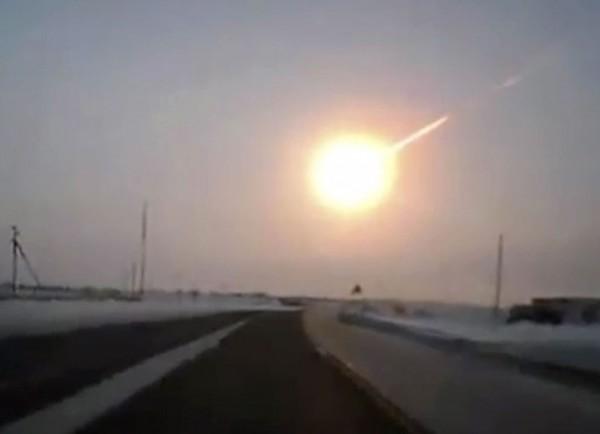 In februari 2013 raakte een meteoriet Rusland, nabij Chelyabinsk.