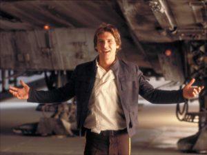 Han Solo is een mooie kerel om een biertje mee te doen. Je pinverzoek moet in Star Wars dan alleen wel sneller dan het licht gaan als je wil afrekenen voordat Han en je biertje dood zijn.