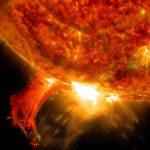 Meetmethode om zonnestorm meer dan 24 uur van tevoren te voorspellen