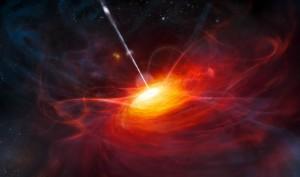 Een recent ontdekt zwart gat is zo groot dat het alle modellen tart die verklaren hoe snel een kosmisch object kan groeien