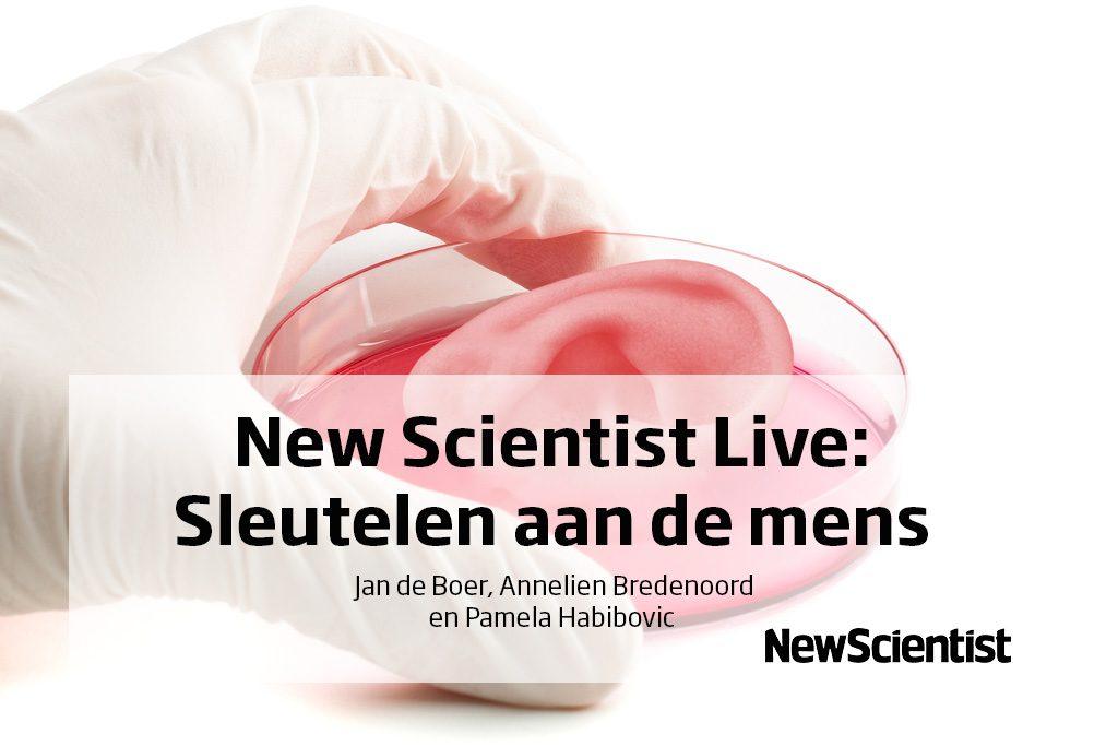 New Scientist Live: Sleutelen aan de mens
