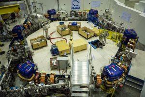 Bouw deeltjesvertrager ELENA bij CERN. Beeld: CERN/Caraban Gonzalez, Noemi .