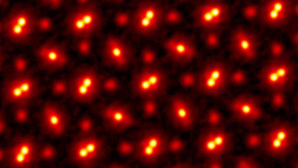 Atomen op de foto