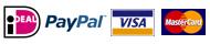 iDeal, PayPal, Visa en Mastercard