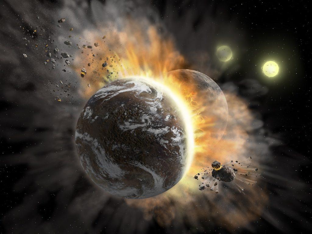Botsende planeten