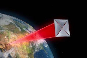 Vliegen we met dit soort minisondes naar Proxima b? Wel als het aan Stephen Hawking ligt. Beeld: Breakthrough Prize Foundation