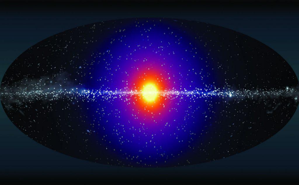 Halo van donkere materie uit steriele neutrino's