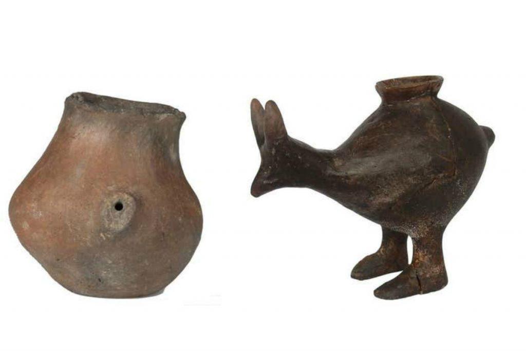 Prehistorische babyflesjes