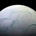 Enceladus. Beeld: Nasa