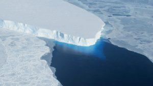 De Thwaites gletsjer in West-Antarctica. Credit: NASA