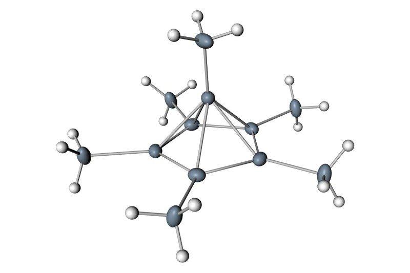 Voor Het Eerst Gezien Hoe Koolstof Met Zes Andere Atomen