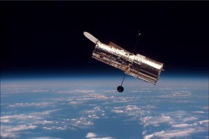 Hoewel Hubble al met pensioen is, zal de ruimtetelescoop vanaf 2018 samen met JWST informatie verzamelen. Afbeelding: Nasa