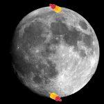 ijs op de maan