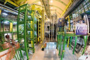 Het LHCb experiment bij CERN. Beeld: Maximilien Brice/CERN.