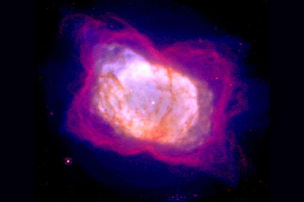 De NGC 7027 nevel