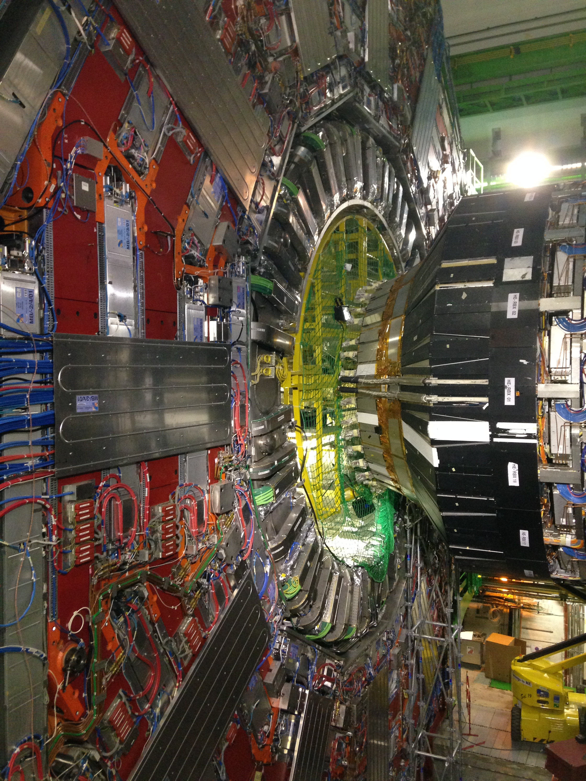 CMS-detector Cern new scientist