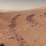 e Curiosity Rover heeft monsters van Gale Crater verzameld die complex organisch materiaal bevatten NASA / JPL-Caltech / MSSS