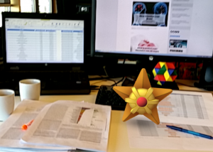 Pokémon Go houdt ook New Scientist-redacteuren van het werk.