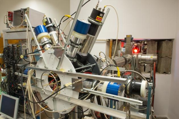 positron spectrometer