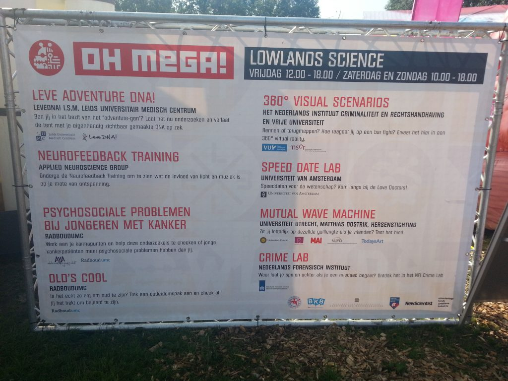programma Lowlands Science