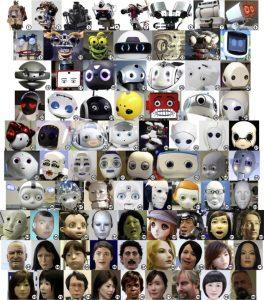 Waarschijnlijk kan je je inbeelden dat de robots een persoonlijkheid hebben. Afbeelding: Mather & Reichling, 2015
