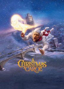 De ghost of christmas past in de 2009-versie van A Christmas Carol, met Jim Carrey in de (stem)rol van zowel Scrooge als de geest