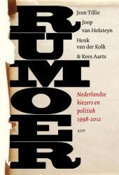 Boekcover Rumoer