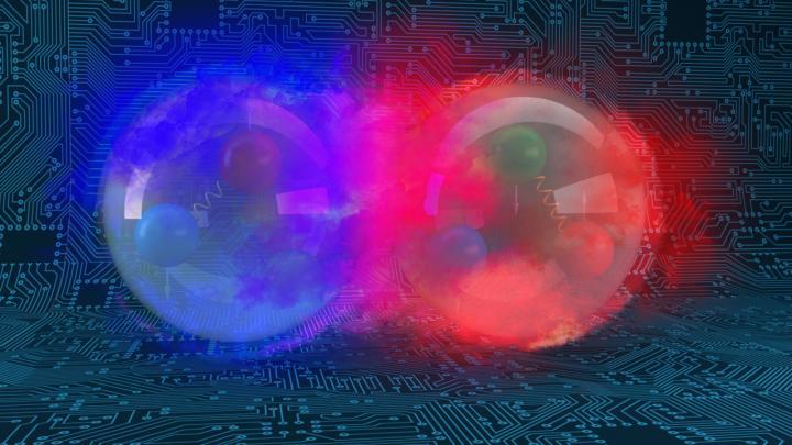 Quantumcomputers simuleren voor het eerst een atoomkern