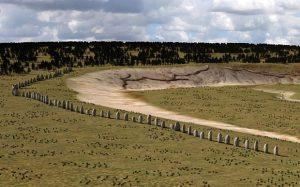 Superhenge Durrington Walls 4500 jaar geleden
