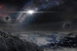 De helderste supernova ooit is ontdekt. Afbeelding: ASAS-SN
