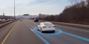 Tesla's automatische piloot zag een vrachtwagen over het hoofd