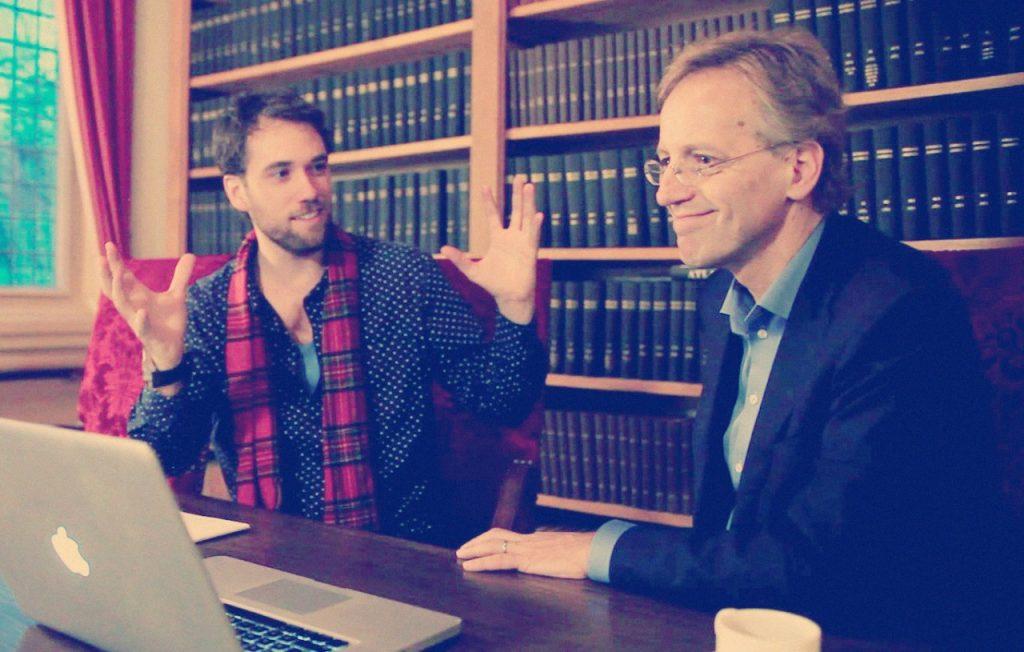 Fysicus Robbert Dijkgraaf werkte als liefhebber van wetenschap en kunst mee aan de documentaire Symmetry Unravelled