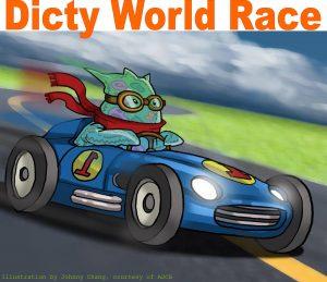 De Dicty World Race. Credit: Jonny Chang